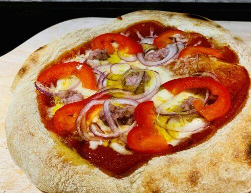 PIZZA CON IMPASTO BONCI IDRO 75%