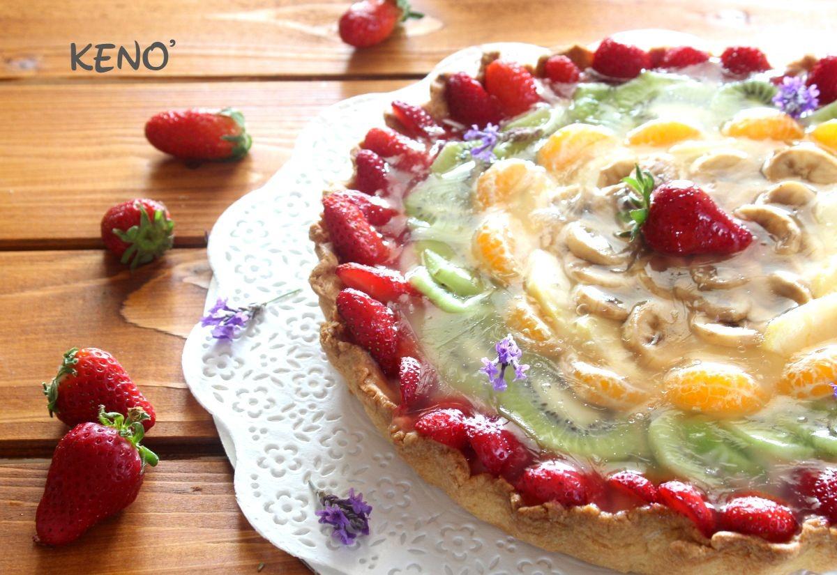 Ricetta Crostata Kenwood Chef.Crostata Di Frutta Fresca Procedimento Kenwood E No Keno