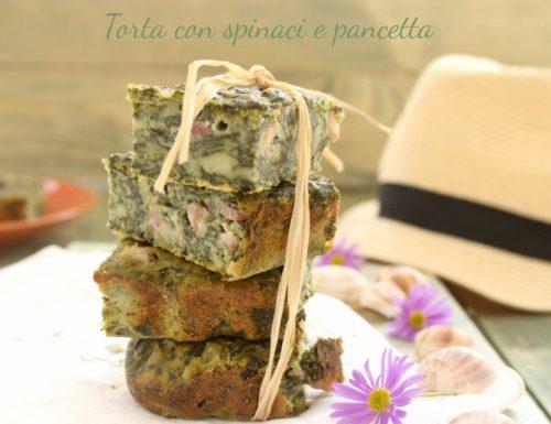 Torta Rustica spinaci e pancetta – ricetta facile