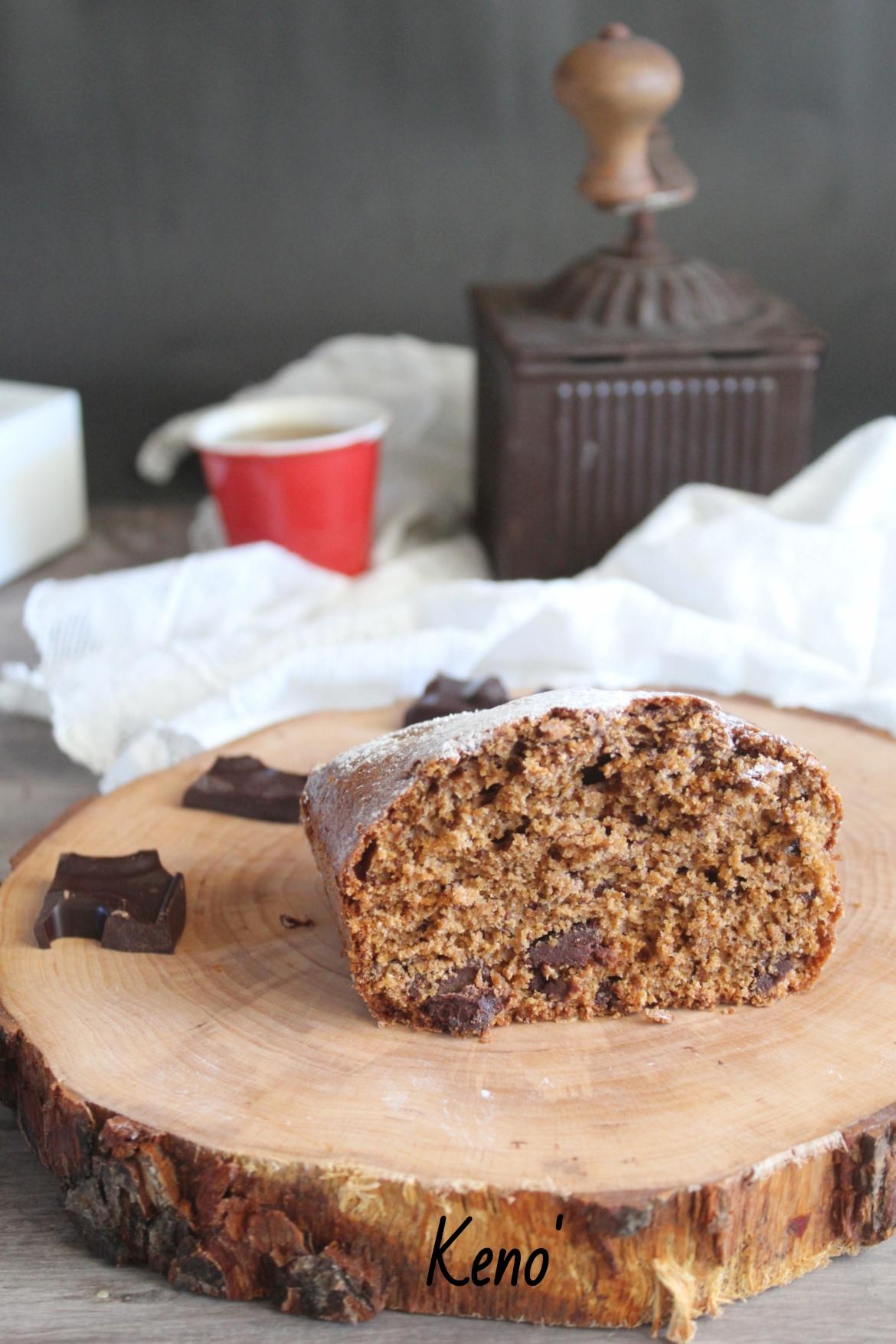 Ricetta plumcake caffè-latte e cioccolato