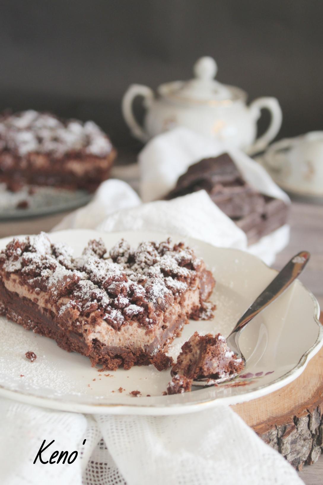 dolce con ricotta e cioccolato