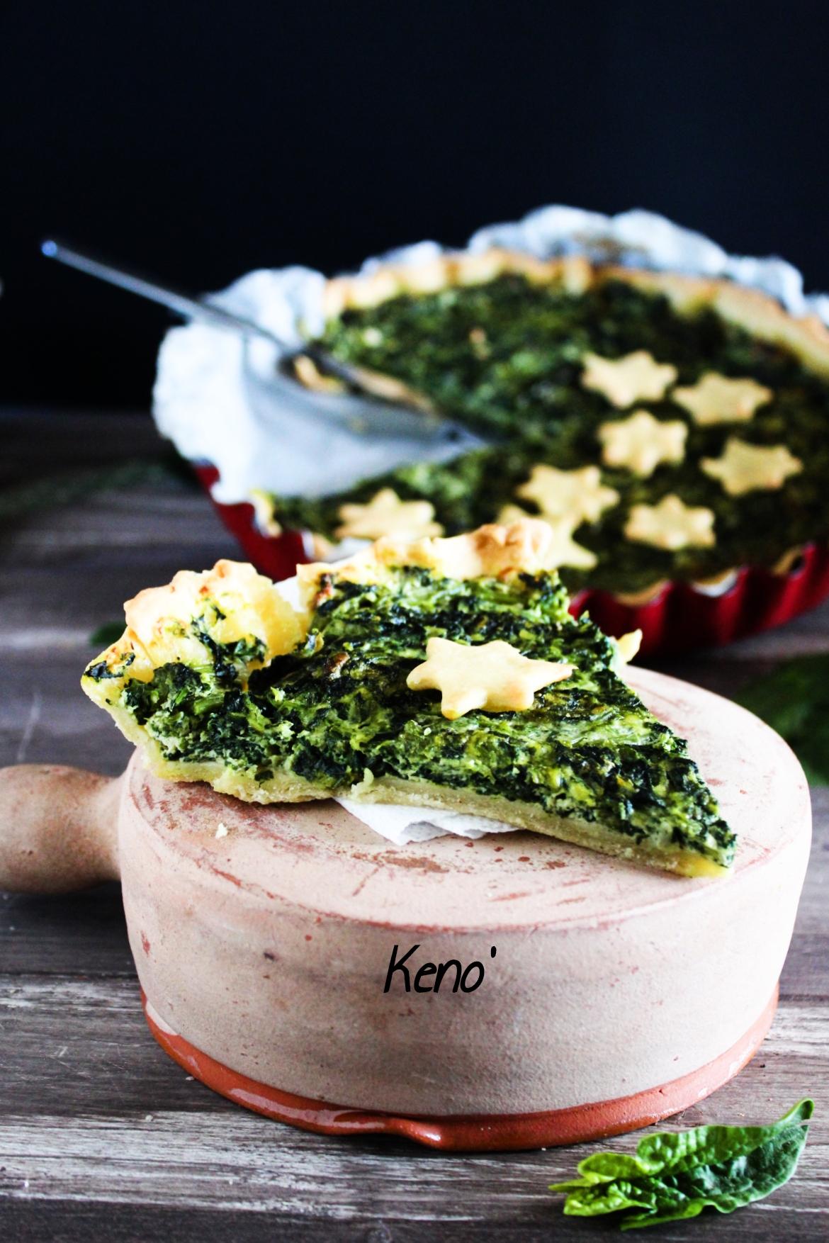 torta spinaci e ricotta-facile e buonissima-