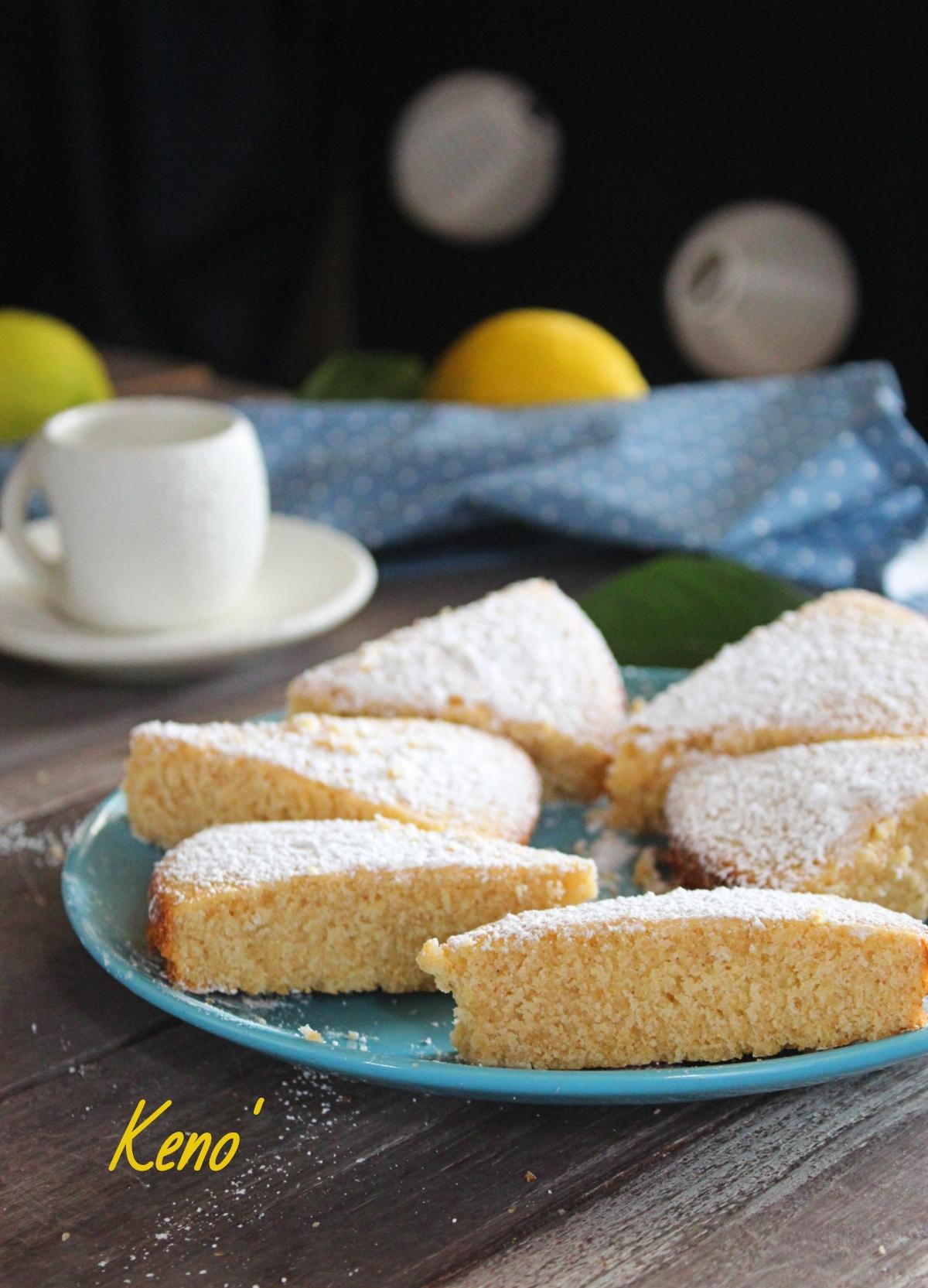 pan di spagna limone