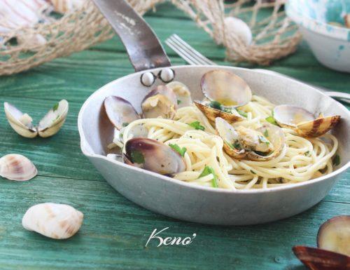 Spaghetti alle vongole ricetta facile e infallibile