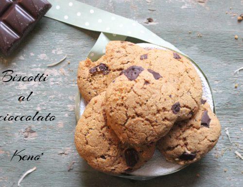 Biscotti al cioccolato-versione cookies light