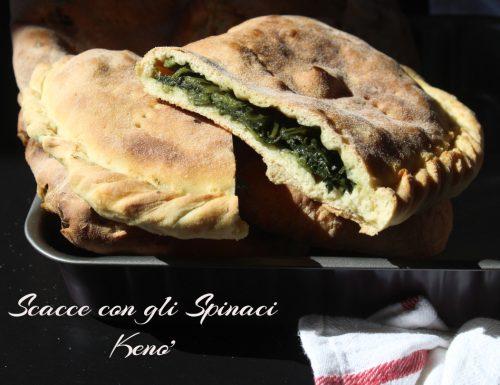 Scacce Ragusane:le Scacce con gli spinaci
