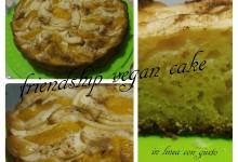 Friendship vegan cake