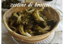 Cestino di broccoli
