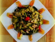 Fagioli tondini e zucchine #FMD f3