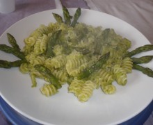 Radiatori agli asparagi