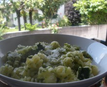 Zucchine grattugiate...in pasta