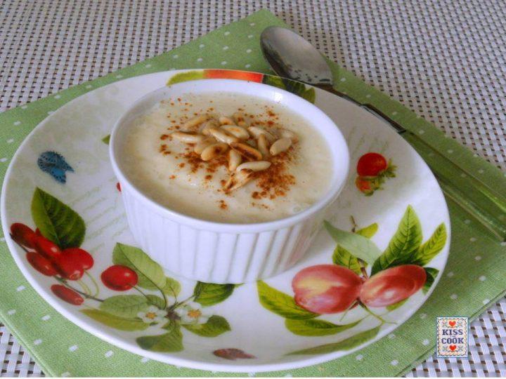 Mousse di mele e yogurt