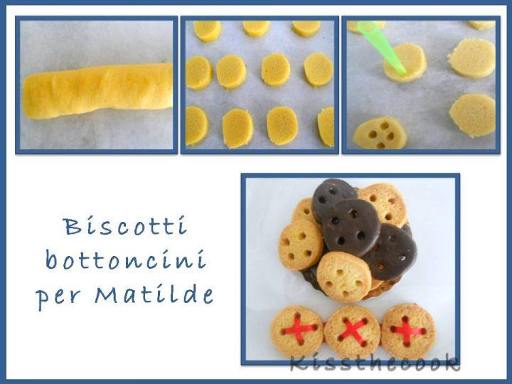 Biscotti bottoncini per Matilde