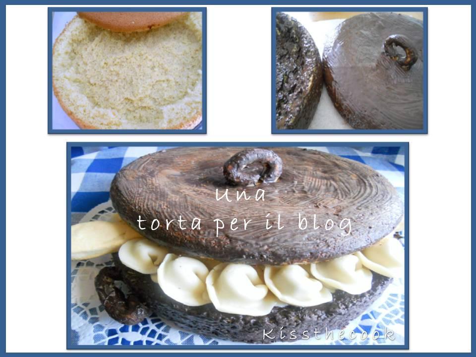 torta per il blog