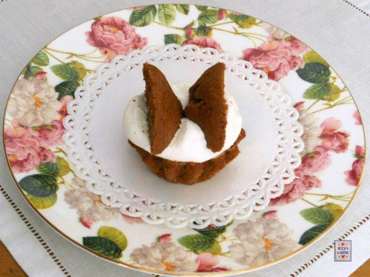 muffin farfalline al cioccolato