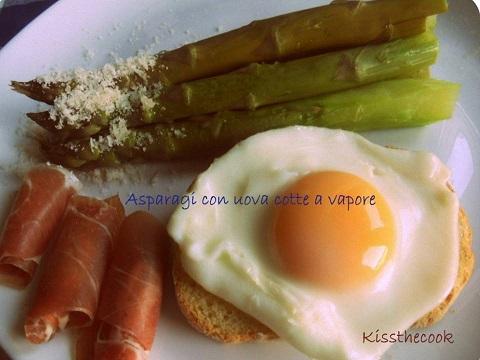 asparagi-con-uova-al-vapore
