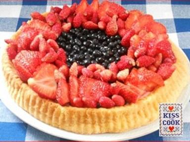 torta morbida ai frutti di bosco
