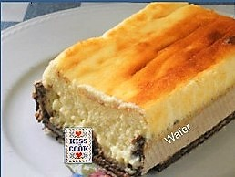 Torta di ricotta e yogurt con i wafer