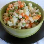 insalata russa senza maionese