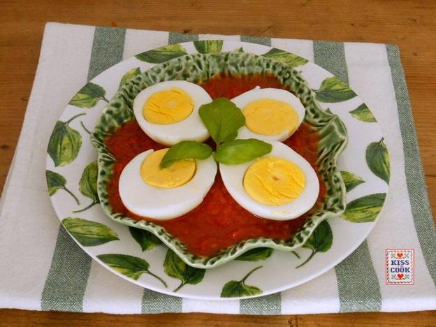 Uova al funghetto