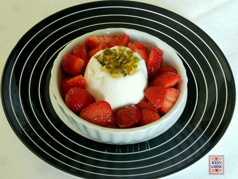 budino allo yogurt, senza cottura