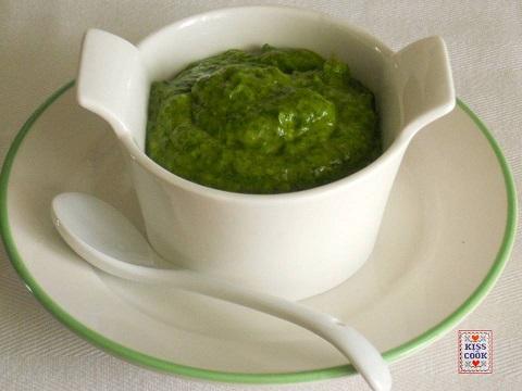 salsa verde, SENZA uova