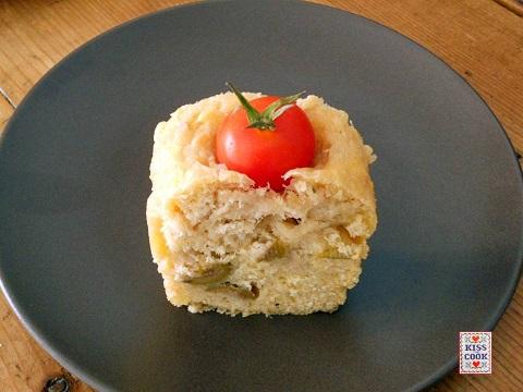 Plumcake al tonno e pomodorini