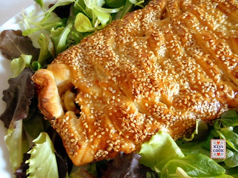 Torta salata al tonno e pomodoro