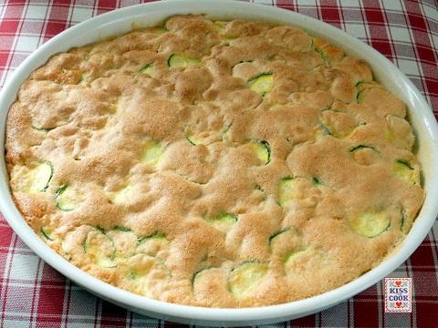 Scarpaccia dolce con zucchini