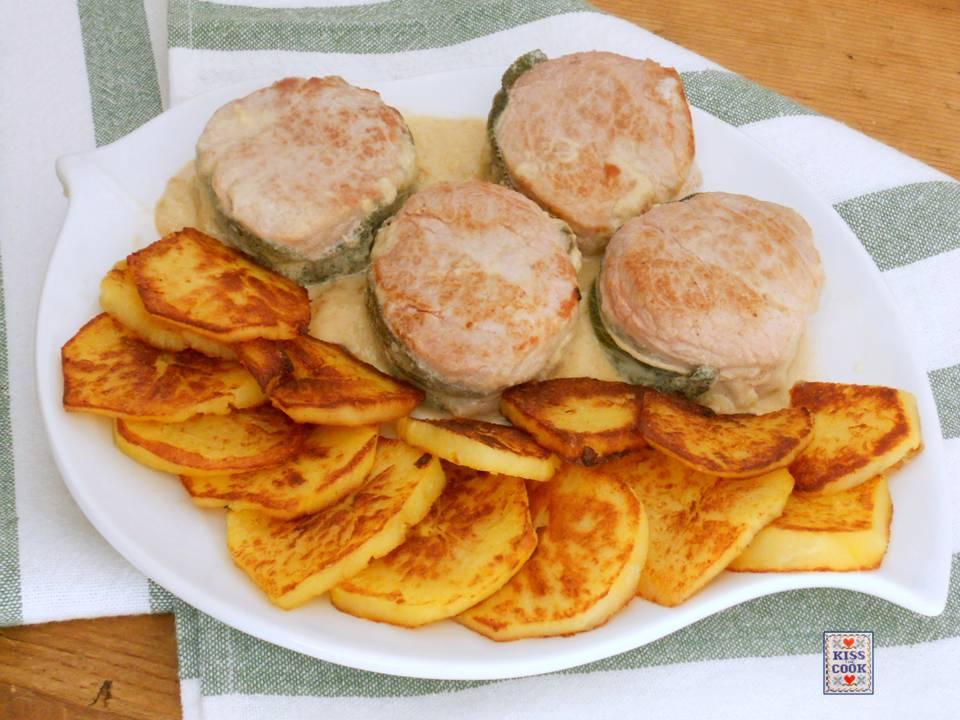 Filetto di maiale al gorgonzola di kissthecook - Filetto di maiale al porto ...
