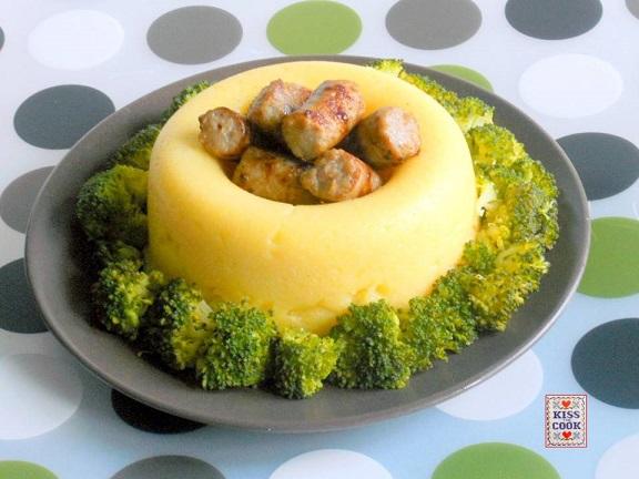salsicce con polenta