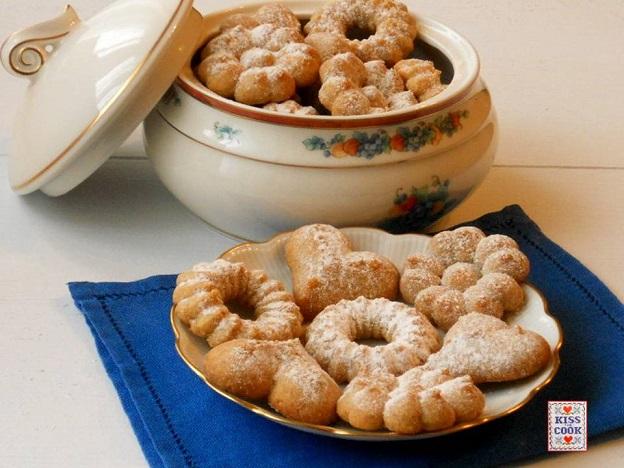 Biscotti con farina di farro, senza burro