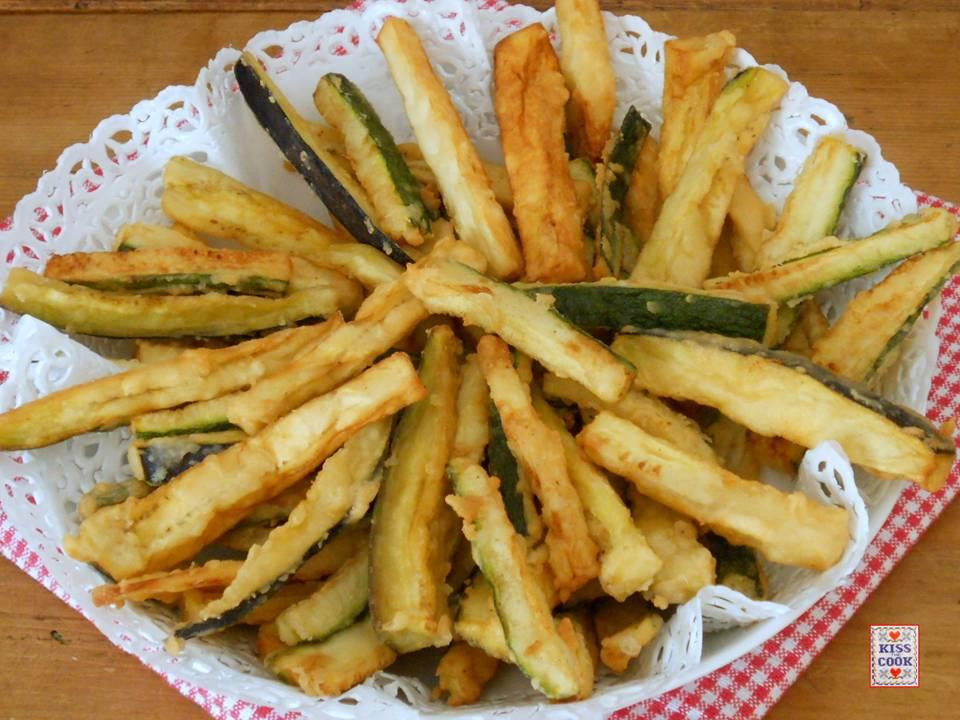 melanzane e zucchine fritte