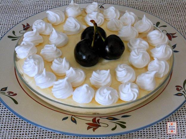 zuppa inglese con le ciliegie
