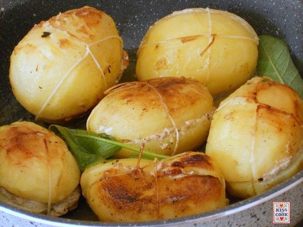 patate ripiene, pacchetti