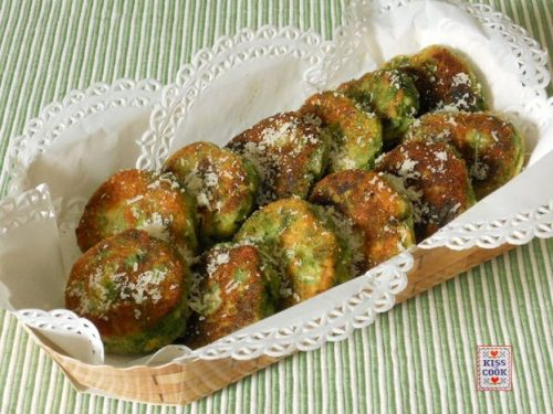 POLPETTINE  DI SPINACI