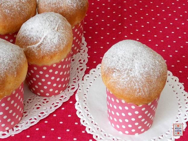 Brioche come muffin