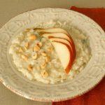 risotto al gorgonzola pere e nocciole