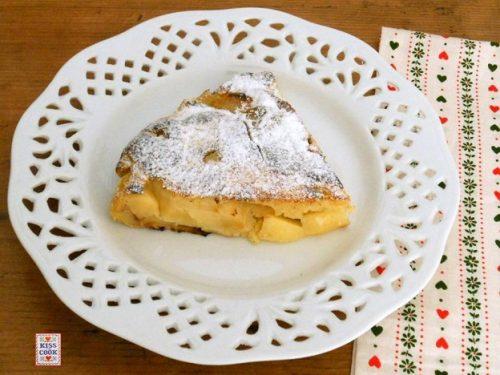 TORTA DI MELE COTTA IN PADELLA – Matafan aux pommes
