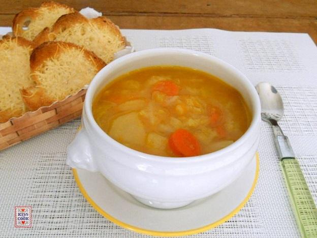 zuppa di verza e zucca