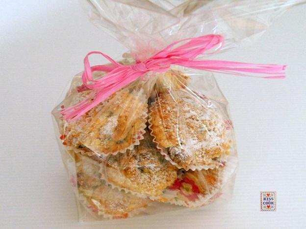 Muffin ai frutti di bosco e mascarpone