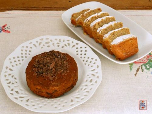 DOLCE DI PATATE E MANDORLE, senza glutine