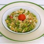 risotto di quinoa alle verdure