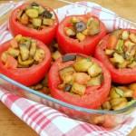 Pomodori con melanzane