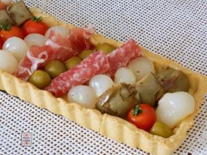 Torta antipasto italiano 1