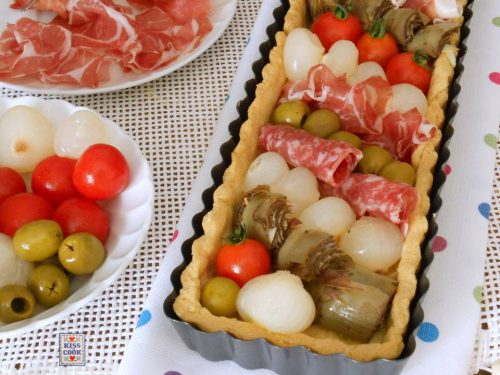 TORTA ANTIPASTO ITALIANO