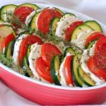 Teglia di riso con verdure ecaprino