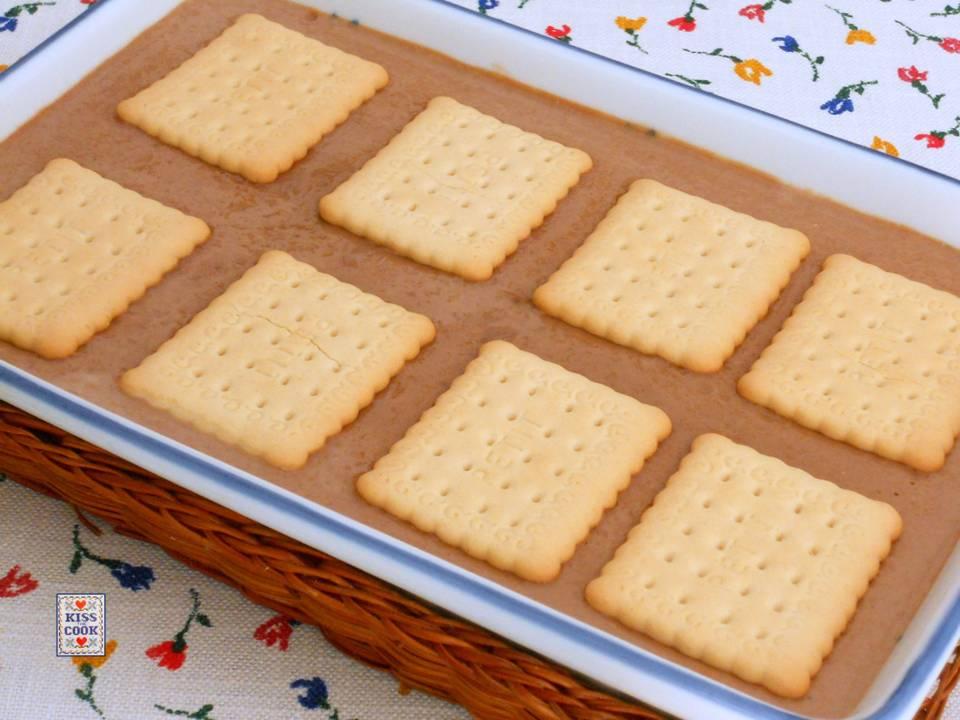 Favori Budino al cioccolato con biscotti secchi RL36