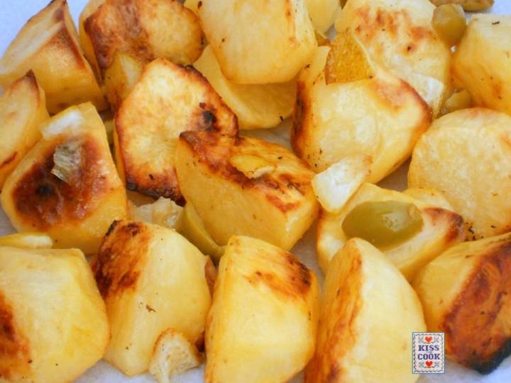 patate al limone e olive