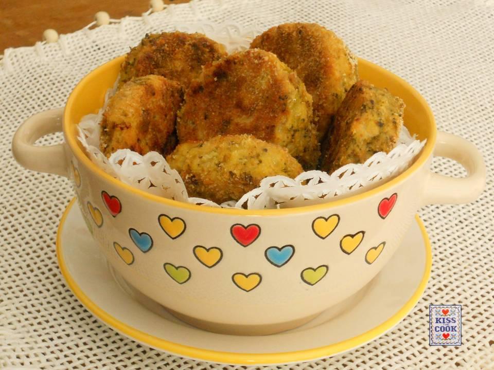 polpettine di broccoli al forno